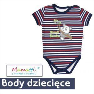 Body dla chłopca. Piękne ubranka dla niemowlaka z Mamatti.