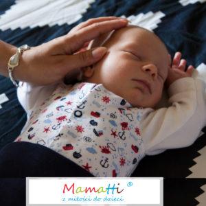 Polskie ubeania dla niemowlaka w dobrej cenie. Wyprawka dla noworodka z Mamatti