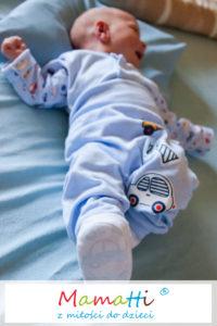 kaftanik i spodnie dla niemowlaka, sklep z ubrankami dla dzieci Mamatti