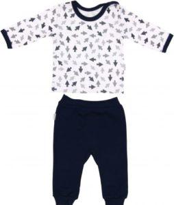 odzież dziecięca sklep internetowy granatowo biała piżama dla dziecka