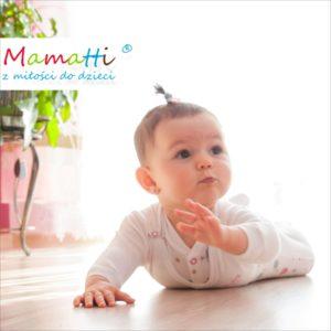 polskie ubranka dla niemowląt śpioszki i kaftaniki z Mamatti