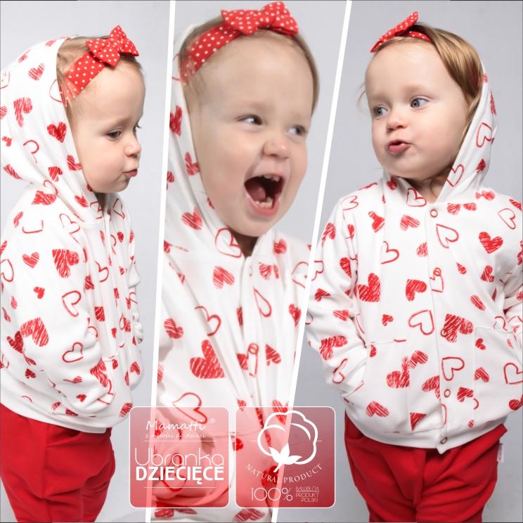 Modne ubranka dla dzieci od 0 do 36 miesiąca. Polski producent odzieży dziecięcej z Wadowic.