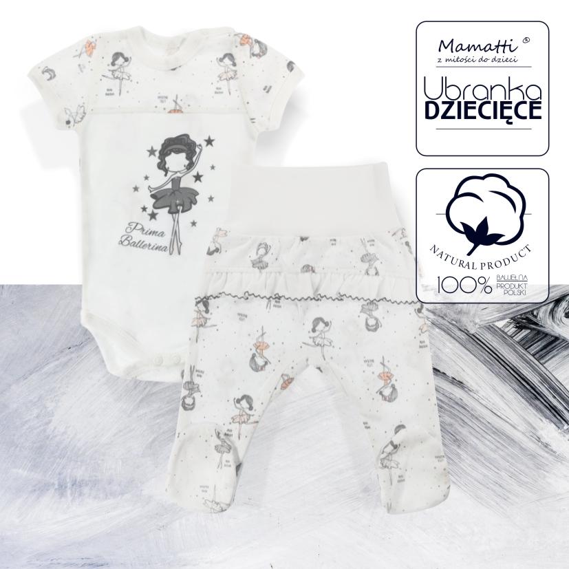Bawełniane ubranka dziecięce i niemowlęce od polskiego producenta Mamatti. Sklep internetowy z modnymi ciuszkami dla noworodka: body, kaftaniki, śpiochy, kocyki, czapeczki, koszulki itd.