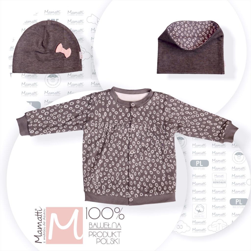 Polski producent ubrań dziecięcych i niemowlęcych Mamatti oferuje: bluzy czapki i bufy dla dzieci i niemowlaków.