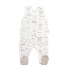 Jak ubrać niemowlę do snu wiosną latem, śpioszki z najnowszej kolekcji Mamatti. Ekologiczne piżamki dla noworodków.