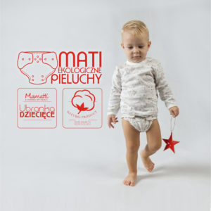 Polski producent ekologicznej bielizny dziecięcej i niemowlęcej, Pieluchy wielorazowe, body, koszulki, piżamy, kaftaniki, śpiochy itd